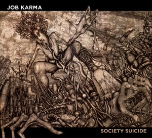 Job Karma - Society Suicide (okładka w wersji dla płyty CD)
