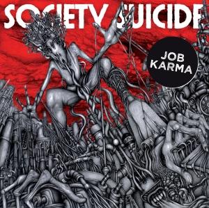 Job Karma - Society Suicide (2014, okładka płyty winylowej)