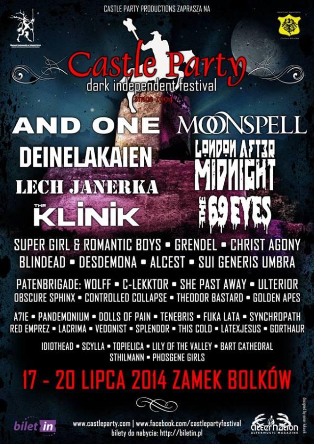 Castle Party 2014 - plakat
