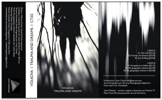Vólkova - Trauma and dreams (wkładka kasety)
