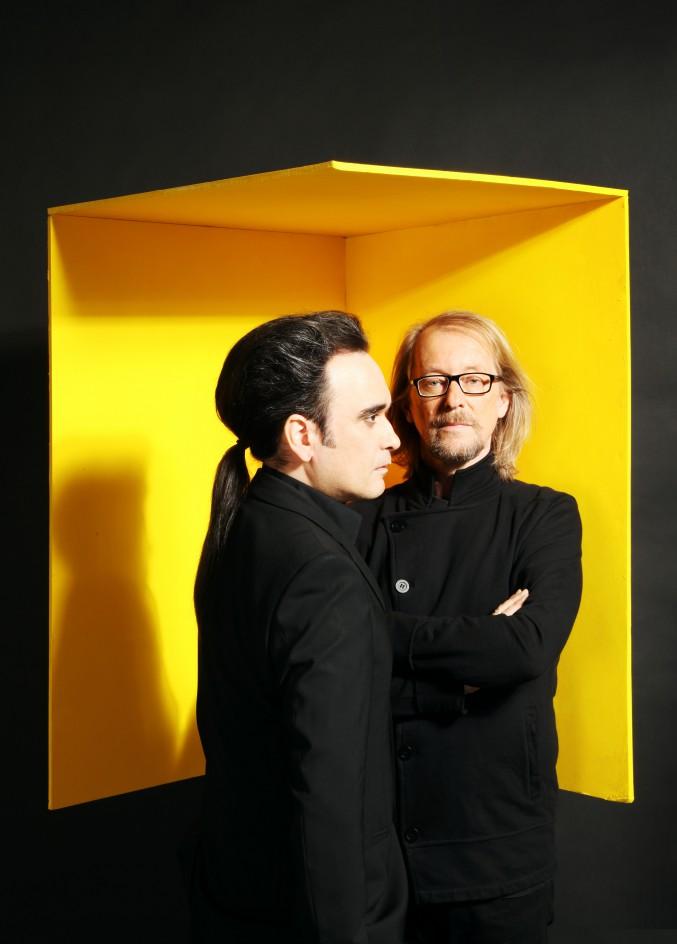 Alexander Veljanov i Ernst Horn (Deine Lakaien)