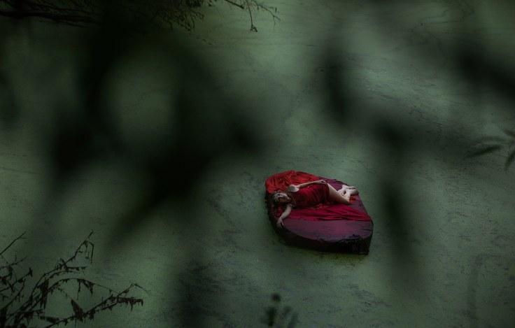 """""""Wiekuiste piękno"""" - na planie teledysku (fot. Tomasz Gotfryd)"""