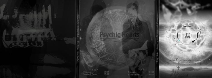 Psychic Hearts - Spiritual Dawn  (wkładka płyty)