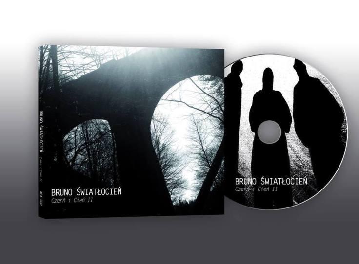 Bruno ŚwiatłoCień - Czerń i Cień II (okładka i płyta CD; zdjęcie: Bronisław Ehrlich; projekt: Maciej Mehring)