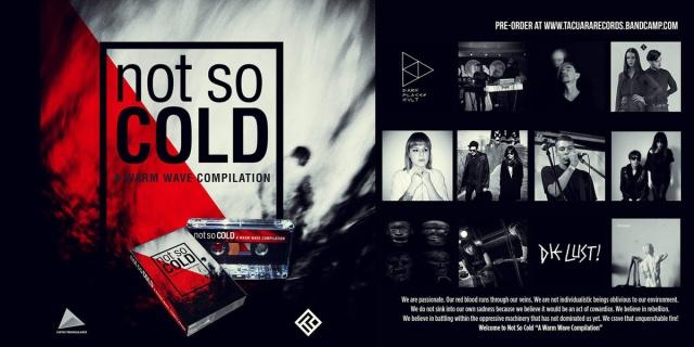 """Not So Cold """"A Warm Wave Compilation"""" (graficzny zwiastun wydawnictwa)"""