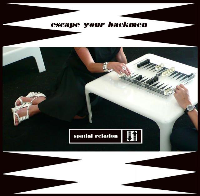 Spatial Relation - Escape Your Backmen (graficzny zwiastun jednego z utworów na Thouthcrime)