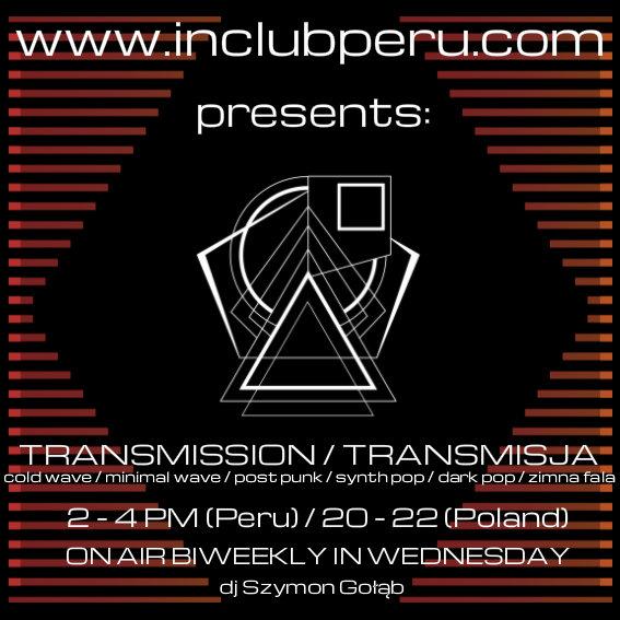 Transmission / Transmisja - zwiastun audycji w InClub Radio