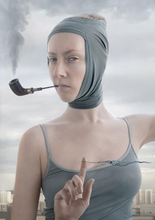 """""""Bluebeard. Jealousy"""" z cyklu """"Not a Man's World"""" (2007) © Katerina Belkina"""