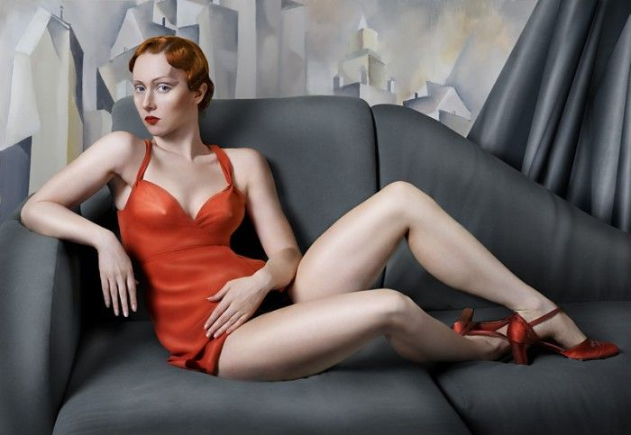 """For Lempicka"" z cyklu ""Paint"" (2007) © Katerina Belkina"