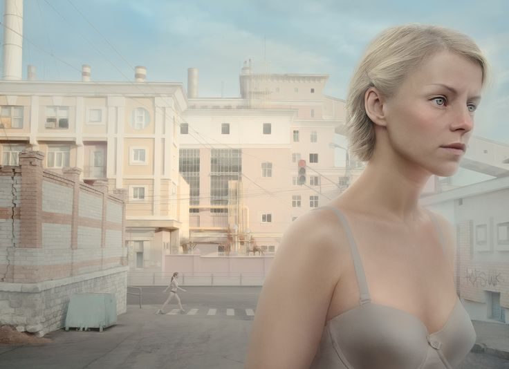 """GRES. The power station"" z cyklu ""Light and Heavy"" (2014) © Katerina Belkina"