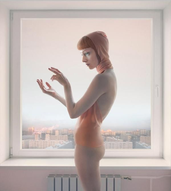 """Morning Message"" z cyklu ""Empty Spaces"" (2010) © Katerina Belkina"