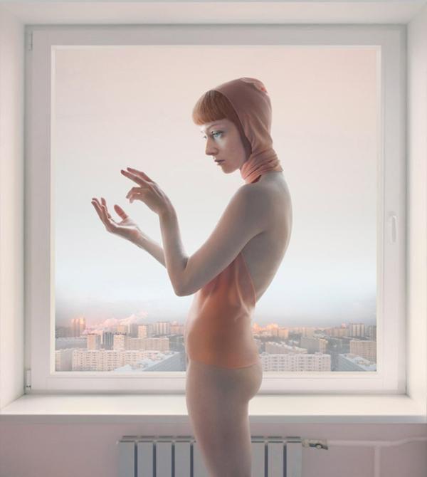 """""""Morning Message"""" z cyklu """"Empty Spaces"""" (2010) © Katerina Belkina"""