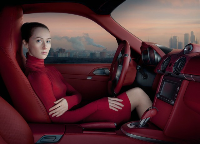 """Red Moscow"" z cyklu ""Empty Spaces"" (2011) © Katerina Belkina"