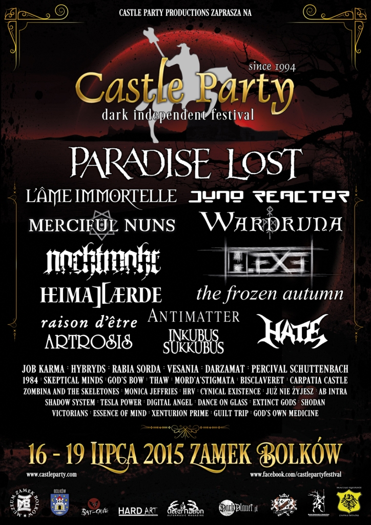 Castle Party Festival 2015 - plakat