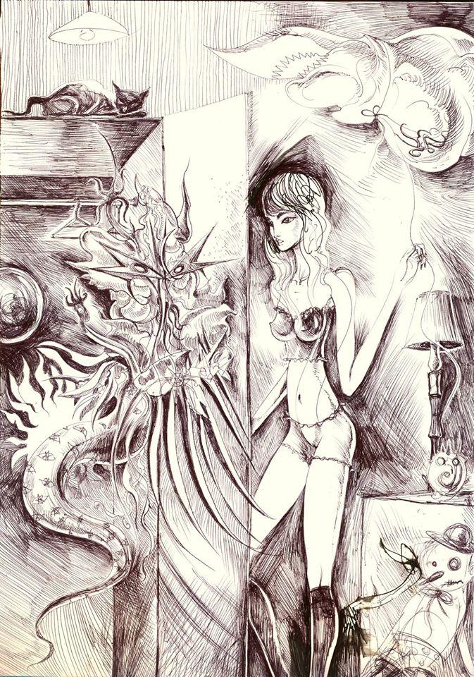 """Chaos w szafie"" © Misior (2015)"