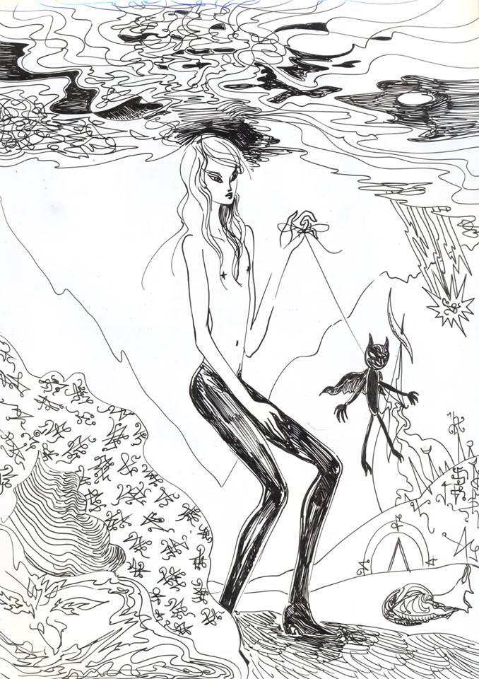 """""""Lucyfer szuka wody"""" © Misior (2014)"""