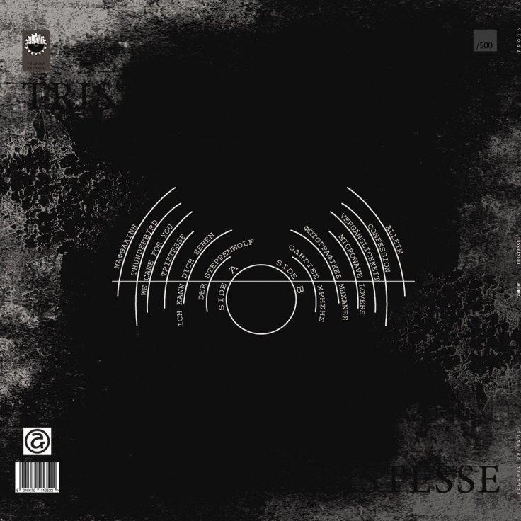 Selofan - Tristesse (tył okładki płyty w wersji winylowej)
