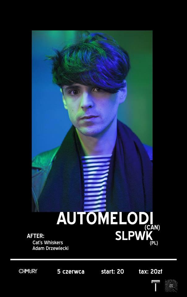 Koncert Automelodi i SLPWK - plakat wydarzenia  (Copyright © Jagoda Nagel)