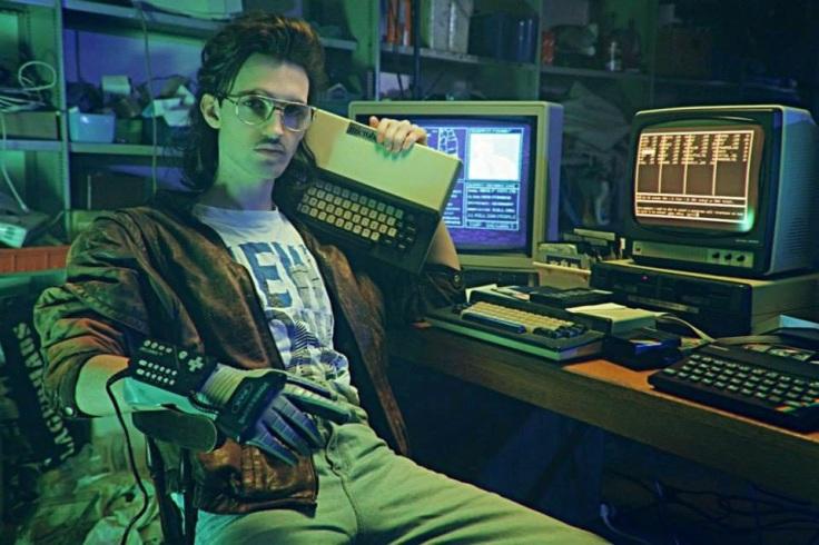 Kung Fury: Haker (Leopold Nilsson) (fot. Copyright © Laser Unicorns)