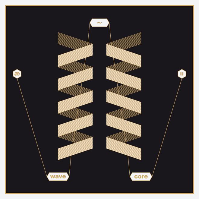 Wavecore 2 (2013) - minimalizm szaty graficznej wydawnictw z serii Wavecore jest także jednym z ich wyróżników.