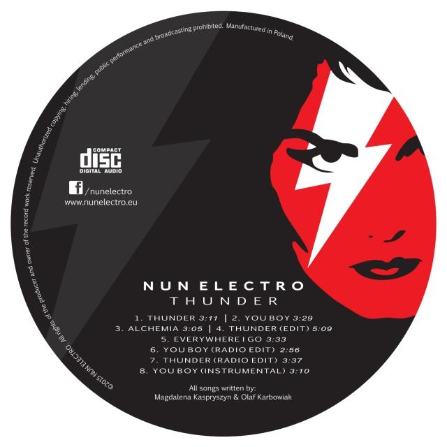 Nun Electro - Thunder - płyta CD