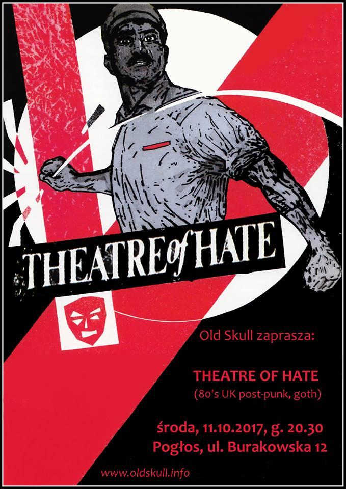 Theatre Of Hate (Pogłos - Warszawa - 11.10.2017)