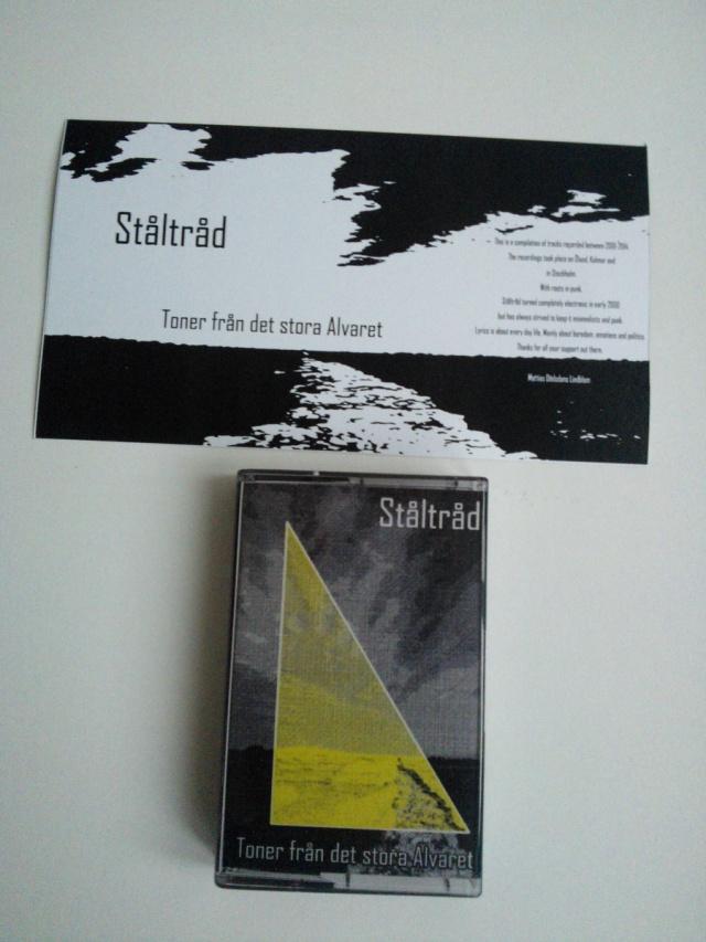 Ståltråd: Toner från det stora Alvaret - kaseta magnetofonowa z wkładką (źródło: Infravox Records)