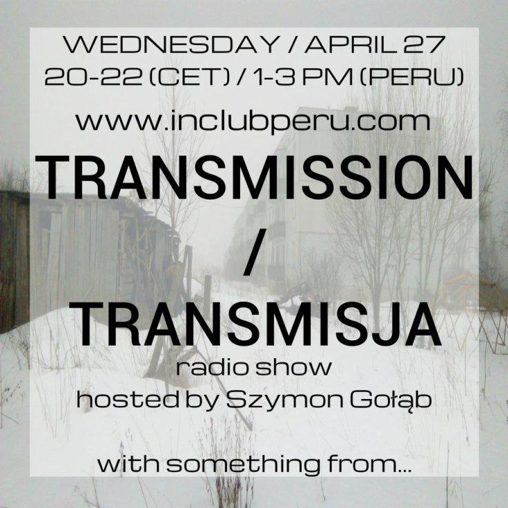Transmission / Transmisja (27.04.2016)