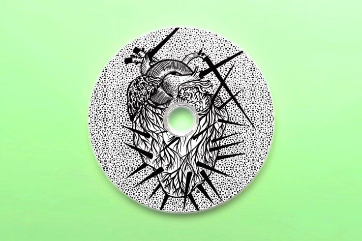 La Main - Nous Ne Serons Plus Rien - płyta CD (źródło - stellarkinematics.bandcamp.com)