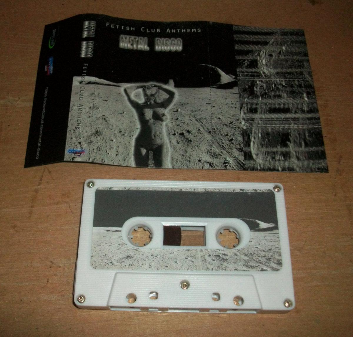 Metal Disco - Fetish Club Anthems - wkładka i kaseta magnetofonowa