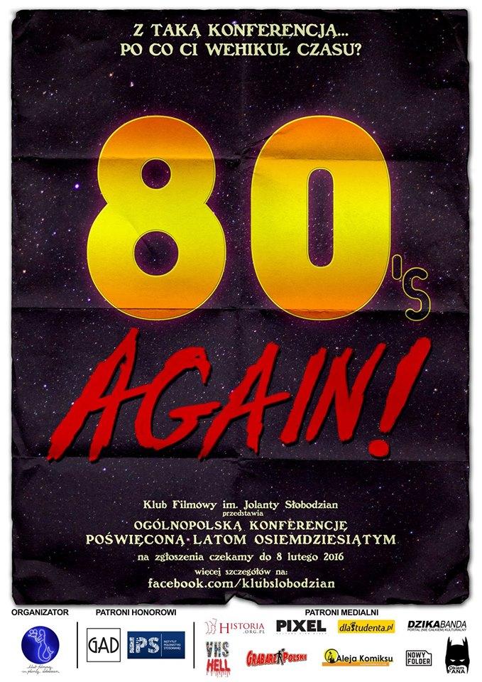 80's Again! - plakat 1