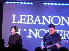 Lebanon Hanover i Undertheskin - koncert w Hydrozagadce (12.03.2016)