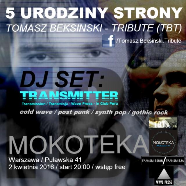 5 Urodziny Tomasz Beksinski - Tribute (TBT)
