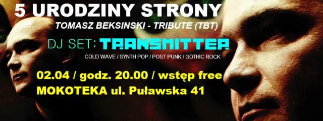 5 Urodziny Tomasz Beksinski - Tribute (TBT