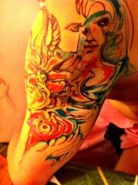 Dominika Daszewska - bez tytułu (projekt tatuażu)