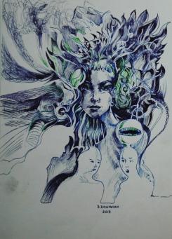 """Dominika Daszewska - """"rys5"""""""