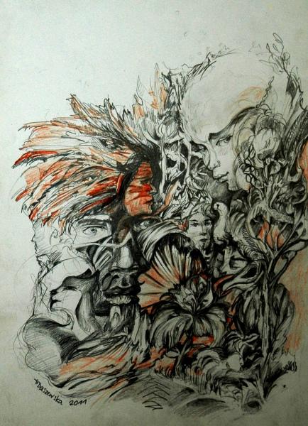 """Dominka Daszewska - """"rys10"""""""