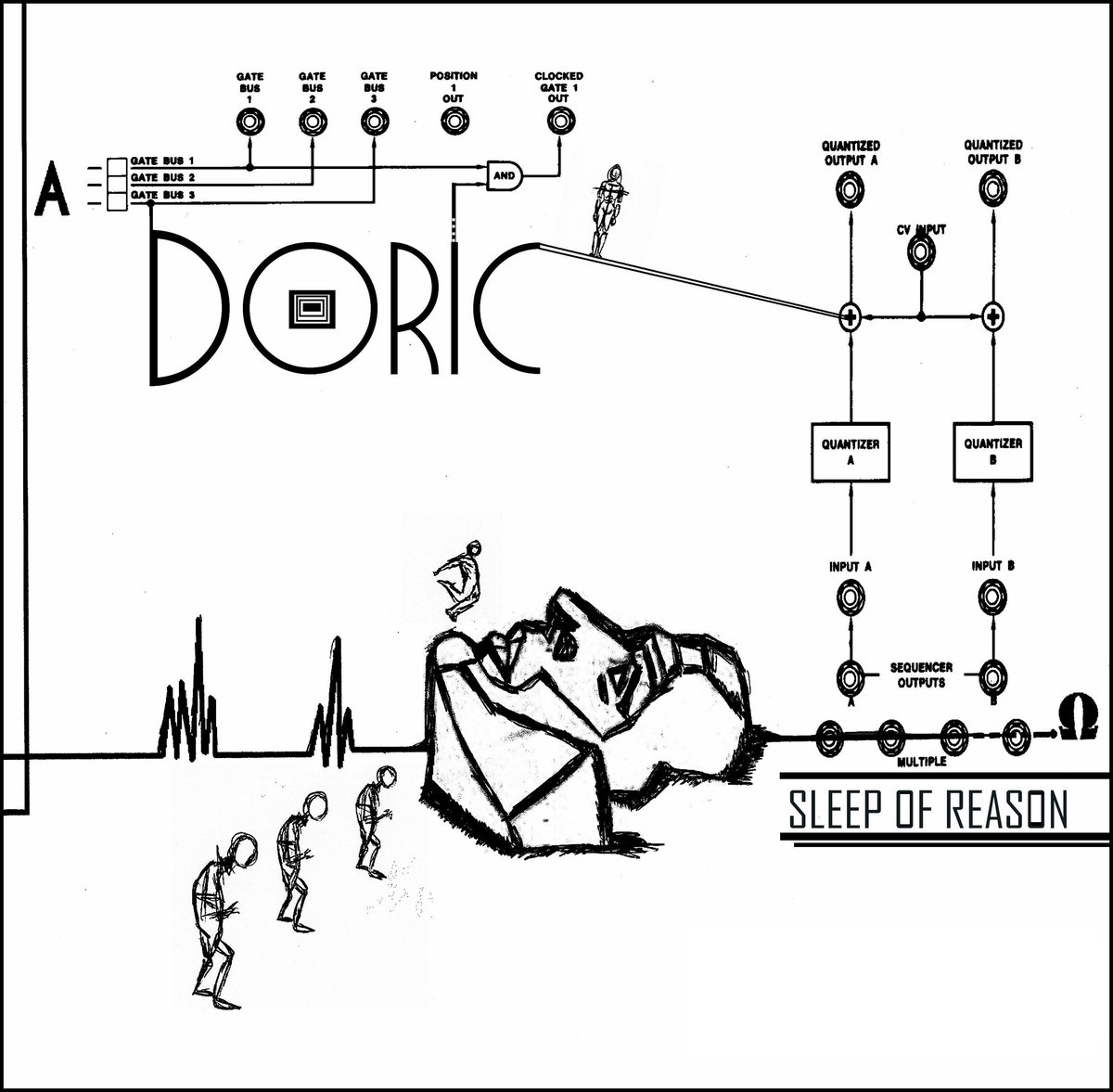 Doric - Sleep Of Reason (EP; 2016)