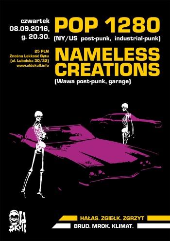 Pop 1280 - Nameless Creations - Znośna Lekkość Bytu - Warszawa - 08.09.2016
