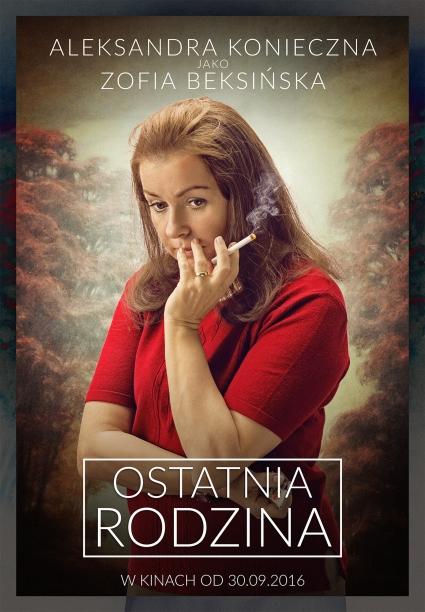 """""""Ostatnia Rodzina"""" (Aleksandra Konieczna jako Zofia Beksińska)"""