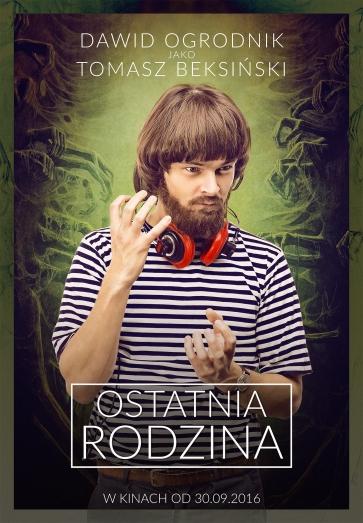 """""""Ostatnia Rodzina"""" (Dawid Ogrodnik jako Tomasz Beksiński)"""