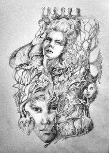 Dominika Daszewska: bez tytułu (rysunek / b.d.)