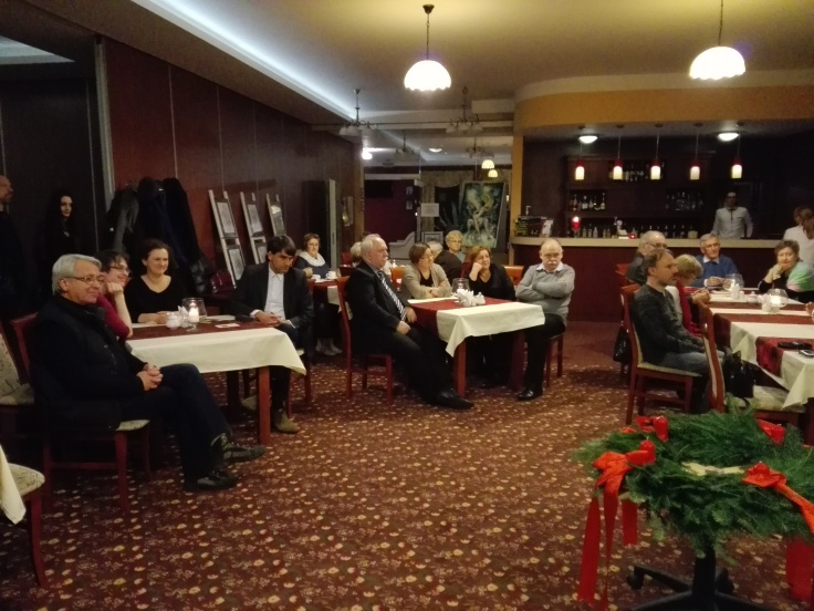 Wernisaż wystawy prac Dominiki Daszewskiej w Hotelu Welskim (fot. Szymon Gołąb)