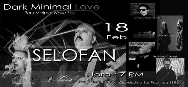 Dark Minimal Love Peru Fest 2017
