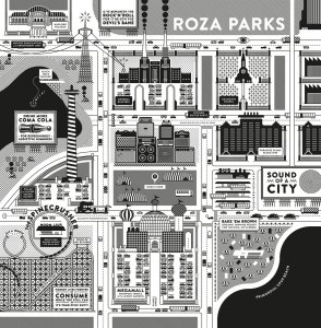 Roza Parks - Sound of the city (LP; 2017)