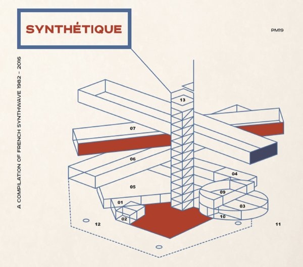 Synthétique: A French Synthwave Compilation 1982-2016 (kompilacja; 2017)
