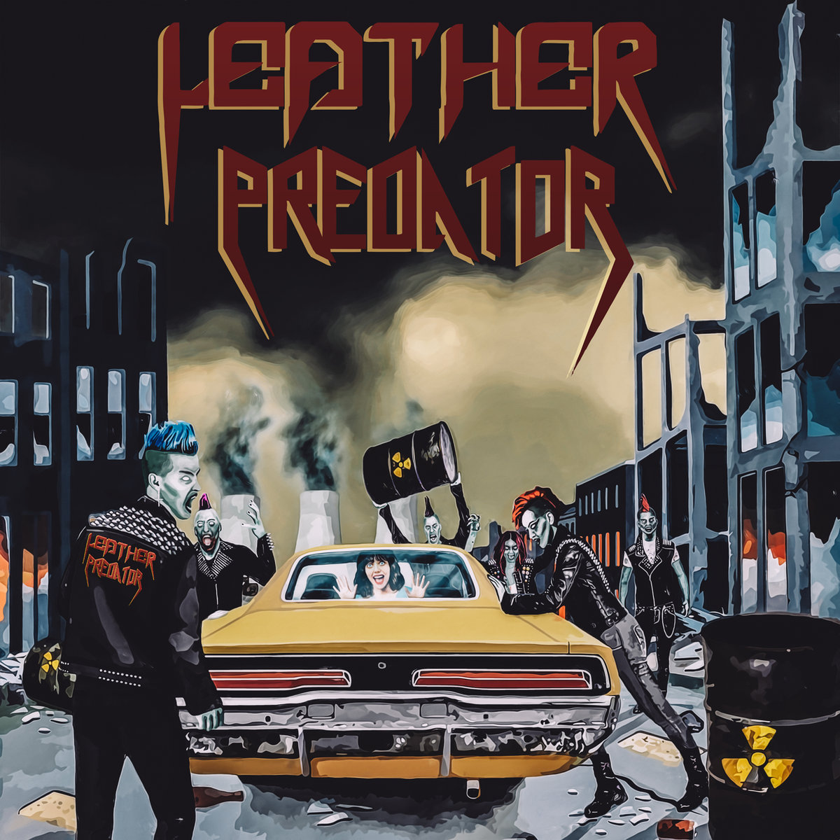 Leather Predator - Leather Predator (EP; 2017)