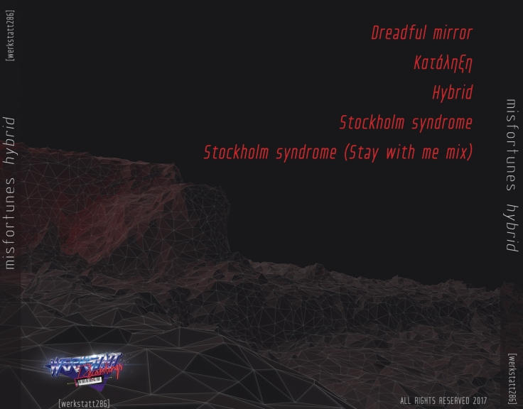 Misfortunes - Hybrid (CD cover back)