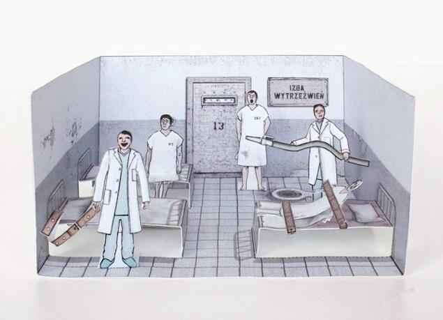 Zupagrafika - Izba Wytrzeźwień (źródło: zupagrafika.com)