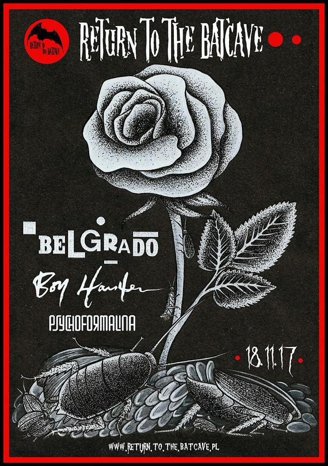 Belgrado - Boy Harsher - Psychoformalina (CRK; Wrocław; 18.11.2017)